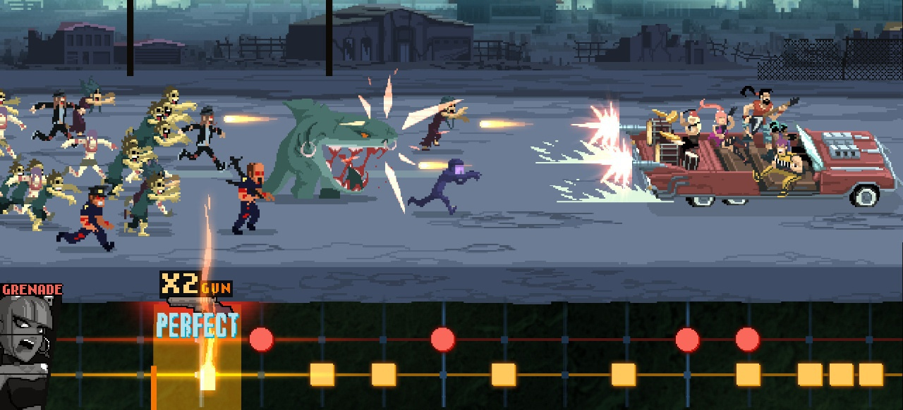 Double Kick Heroes () von Headbang Club
