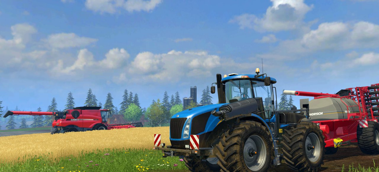 Landwirtschafts-Simulator 15 (Simulation) von Focus Home Interactive / Astragon Software